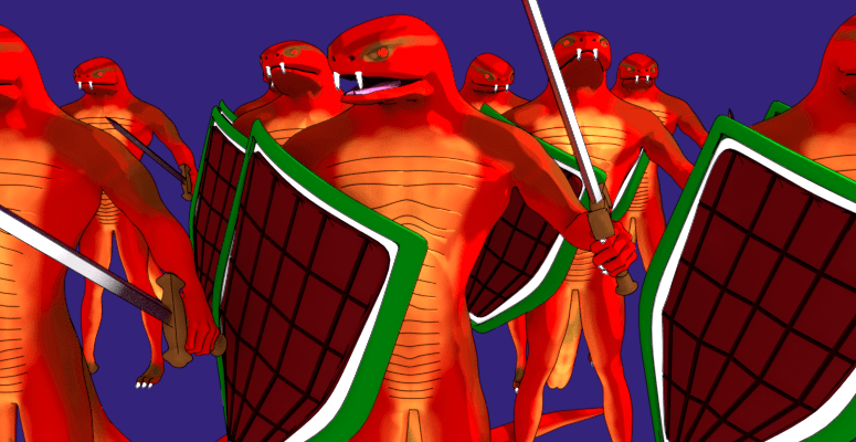Snake soldiers